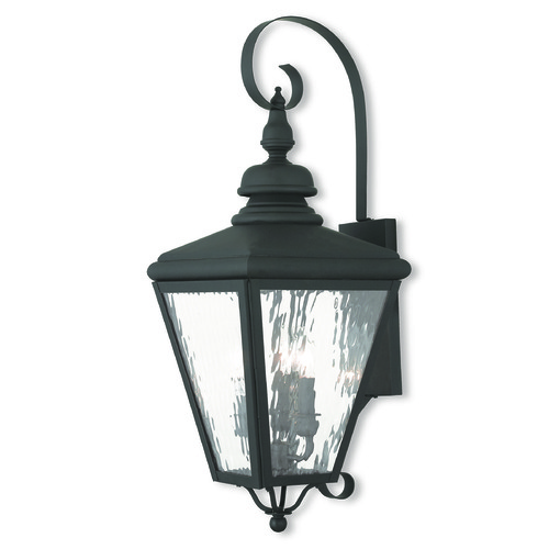 Livex Lighting Livex Lighting Cambridge Black Outdoor Wall Light 2033-04