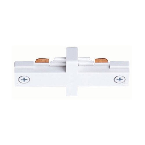 Juno Lighting Group Juno Trac-Lites Small White Straight Connector R23 WH