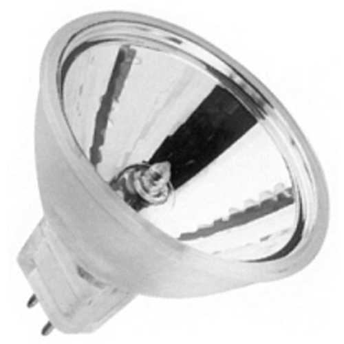 Ushio Lighting 50-Watt MR16 Tungsten Halogen Dichroic Reflector Light Bulb 1001127