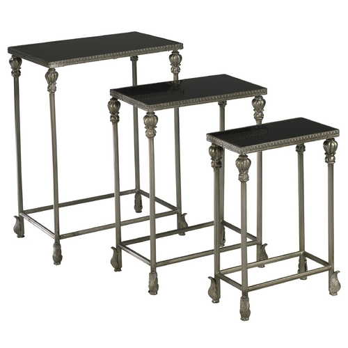Cyan Design Cyan Design Livingston Antique Silver Table 01597