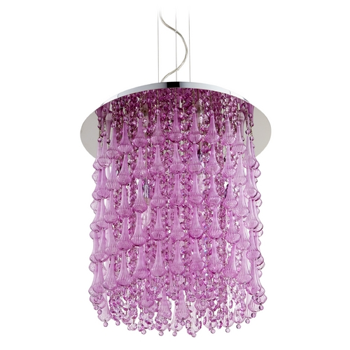 Cyan Design Cyan Design Charleston Purple Pendant Light 06803