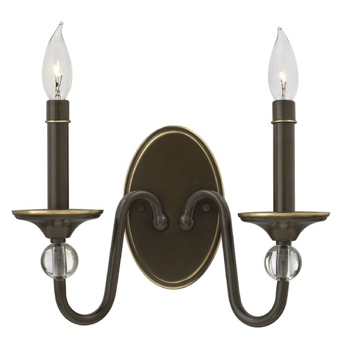 Hinkley Lighting Hinkley Lighting Eleanor Light Oiled Bronze Sconce 4952LZ