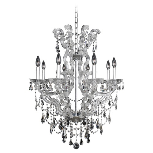 Allegri Lighting Brahms 8 Light Crystal Chandelier 023454-010-FR001