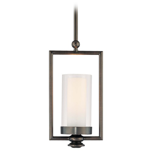 Minka Lavery Mini-Pendant Light with Clear Glass 4361-281