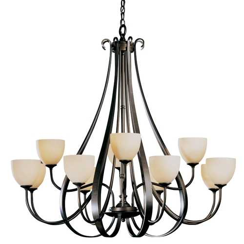 Hubbardton Forge Lighting Twelve-Light Chandelier 19214812HG-05-H01