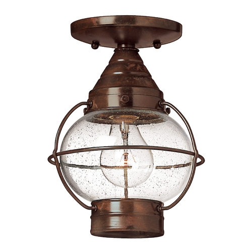 Hinkley Lighting Convertible Outdoor Pendant/Semi-Flush Light 2203SZ