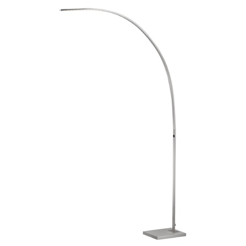 Adesso Home Lighting Adesso Home Sonic Brushed Steel LED Arc Lamp 4235-22