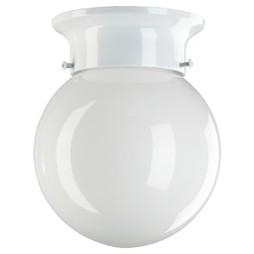 Quorum Lighting Quorum Lighting White Flushmount Light 3308-6-6