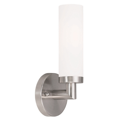 Livex Lighting Livex Lighting Aero Brushed Nickel Sconce 10103-91