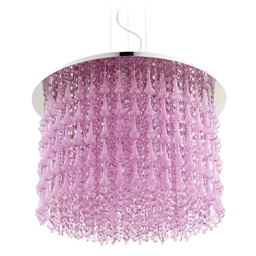 Cyan Design Cyan Design Charleston Purple Pendant Light 06804