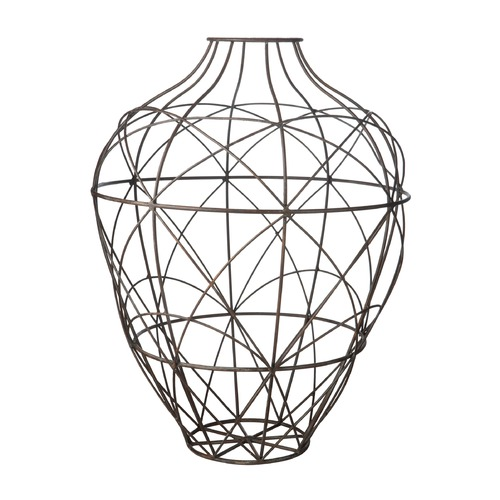 Dimond Lighting Russet Wire Vessel - Large 594014