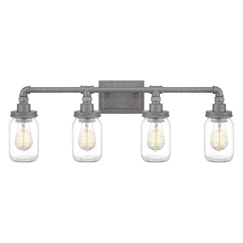 Quoizel Lighting Quoizel Lighting Squire Galvanized Bathroom Light SQR8604GV