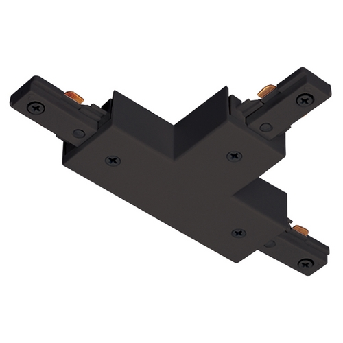 Juno Lighting Group Juno Trac-Lites T Connector in Black Finish R25 BL