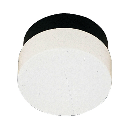 Progress Lighting Progress Close To Ceiling Light with White in Black Finish P5710-31