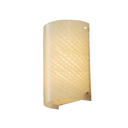Justice Design Group Justice Design Group Fusion Collection Outdoor Wall Light FSN-5542W-WEVE-CROM