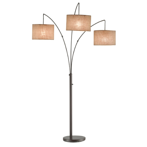 Adesso Home Lighting Adesso Home Lighting Trinity Antique Bronze Arc Lamp 4238-26