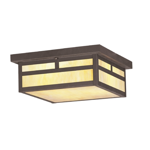 Livex Lighting Livex Lighting Montclair Mission Bronze Close To Ceiling Light 2146-07