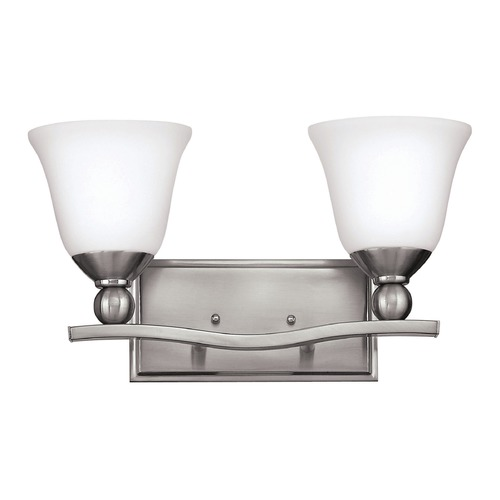 Hinkley Lighting Hinkley Lighting Bolla Brushed Nickel Bathroom Light 5892BN-GU24