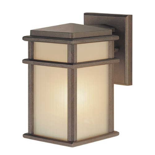Feiss Lighting Feiss Lighting Mission Lodge Corinthian Bronze LED Outdoor Wall Light OL3400CB-LED