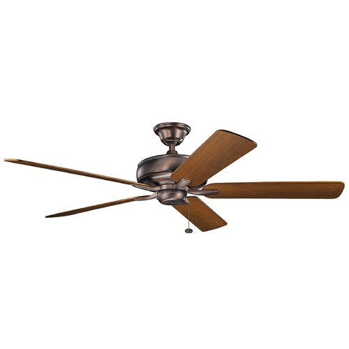 Kichler Lighting Kichler Lighting Terra Oil Brushed Bronze Ceiling Fan Without Light 330249OBB