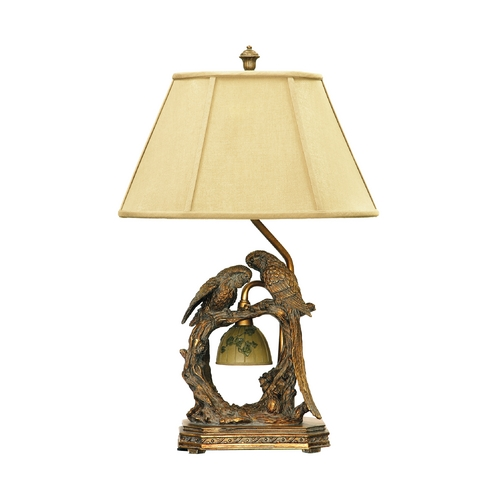 Dimond Lighting Table Lamp with Beige / Cream Shade 91-507