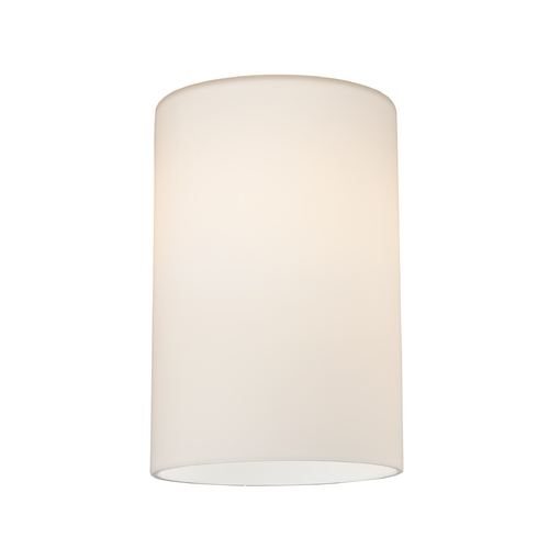 Design Classics Lighting Satin White Cylinder Glass Shade - Lipless with 1-5/8-Inch Fitter GL1028C