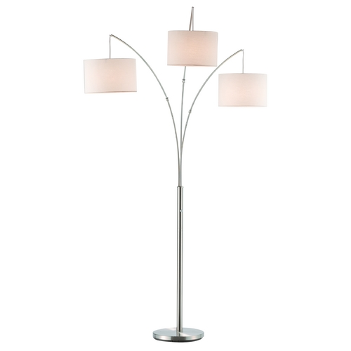 Adesso Home Lighting Adesso Home Lighting Trinity Satin Steel Arc Lamp 4238-22