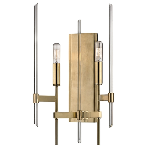 Hudson Valley Lighting Hudson Valley Lighting Bari Aged Brass Sconce 9902-AGB