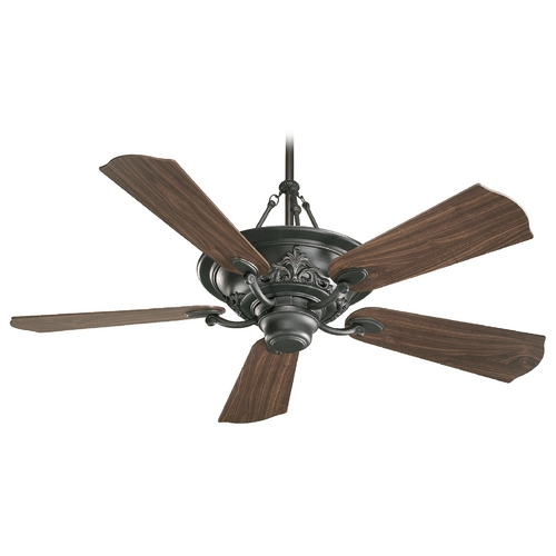 Quorum Lighting Quorum Lighting Salon Old World Ceiling Fan with Light 83565-95