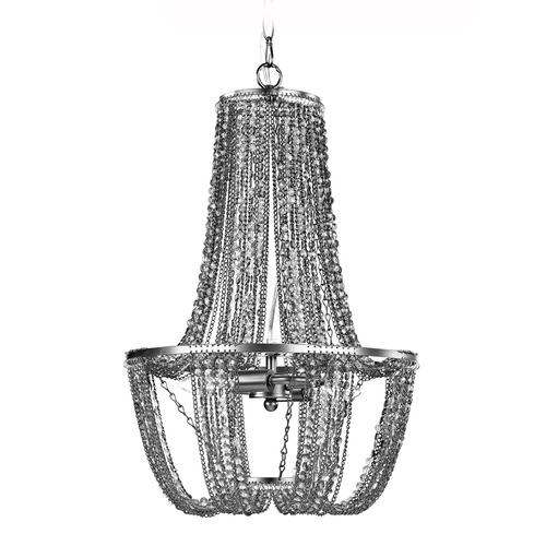 Sterling Lighting Mini Chandelier In Tea Stained And Metallic 122-028