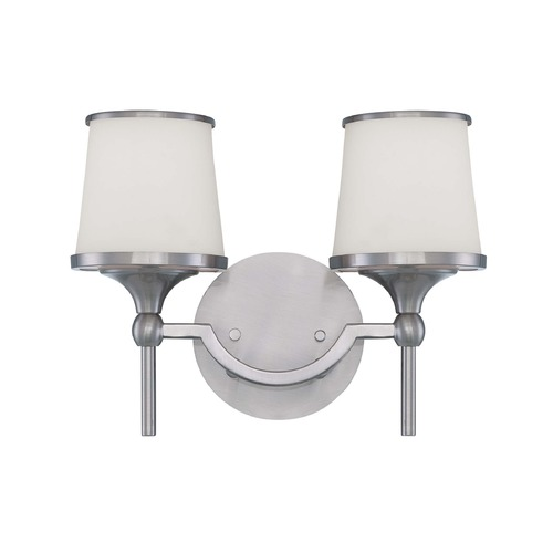 Savoy House Savoy House Satin Nickel Bathroom Light 8-4385-2-SN