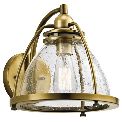 Kichler Lighting Kichler Lighting Silberne Natural Brass Sconce 43741NBR