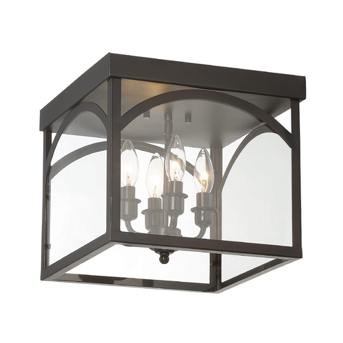 Savoy House Savoy House Lighting Garrett English Bronze Flushmount Light 6-3058-4-13