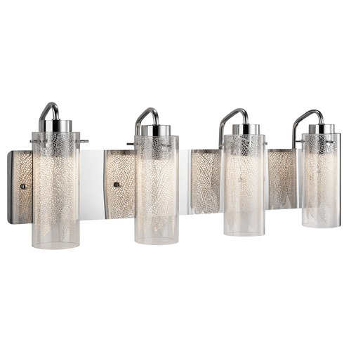 Elan Lighting Elan Lighting Krysalis Chrome LED Bathroom Light 83772