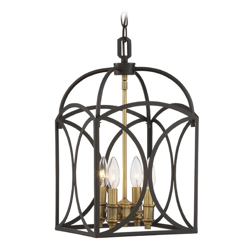 Savoy House Savoy House Lighting Talbot English Bronze / Warm Brass Pendant Light 3-4080-4-79