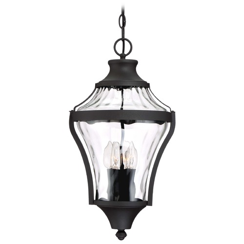Minka Lavery Minka Lavery Libre Black Outdoor Hanging Light 72564-66