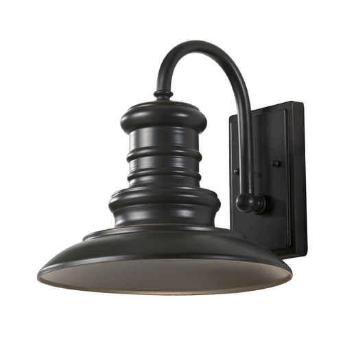 Feiss Lighting Outdoor Wall Light in Restoration Bronze Finish OL8601RSZ