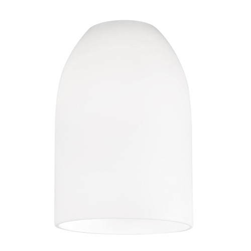 Design Classics Lighting White Dome Glass Shade - Lipless with 1-5/8-Inch Fitter Opening GL1028D