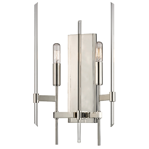 Hudson Valley Lighting Hudson Valley Lighting Bari Polished Nickel Sconce 9902-PN
