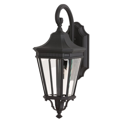 Feiss Lighting Feiss Lighting Cotswold Lane Black LED Outdoor Wall Light OL5401BK-LED