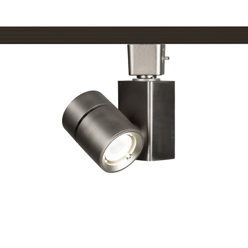 WAC Lighting WAC Lighting Brushed Nickel LED Track Light H-Track 3000K 677LM H-1014N-930-BN