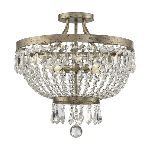 Savoy House Savoy House Lighting Claiborne Avalite Semi-Flushmount Light 6-3062-4-60