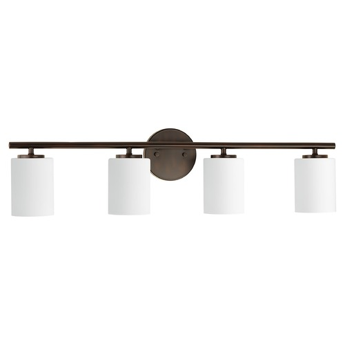 Progress Lighting Modern Bathroom Light Bronze Replay by Progress Lighting P2160-20