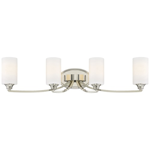 Minka Lavery Minka Tilbury Polished Nickel Bathroom Light 3984-613