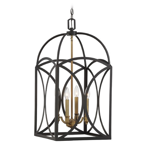 Savoy House Savoy House Lighting Talbot English Bronze / Warm Brass Pendant Light 3-4081-4-79