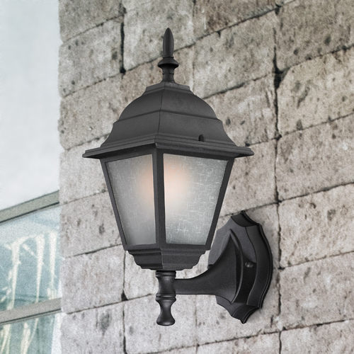 Design Classics Lighting Black Outdoor Wall Lantern 6171 BK