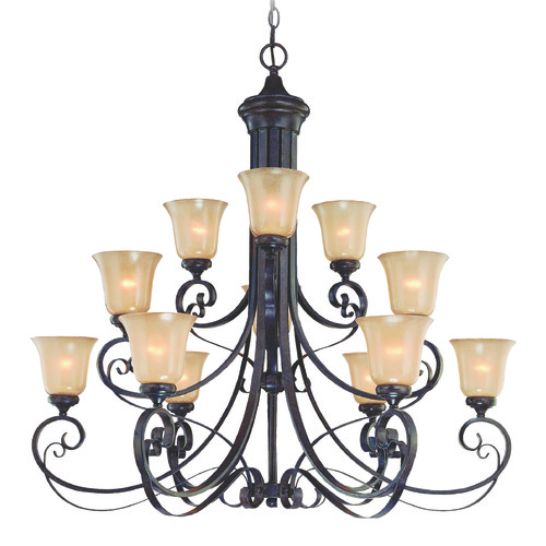 Jeremiah Lighting Jeremiah Stanton English Toffee Chandelier 25112-ET