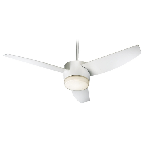 Quorum Lighting Quorum Lighting Trimark Studio White Ceiling Fan with Light 20543-908