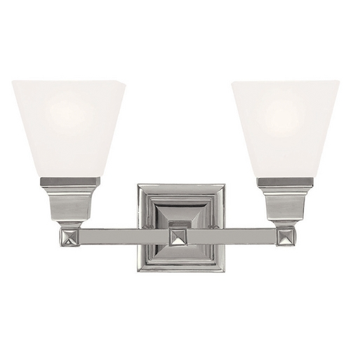 Livex Lighting Livex Lighting Mission Polished Nickel Bathroom Light 1032-35