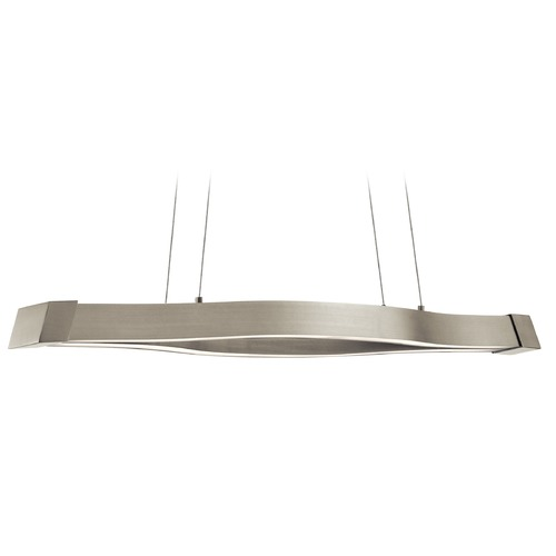 Elan Lighting Elan Lighting Nya Satin Nickel LED Island Light 83717